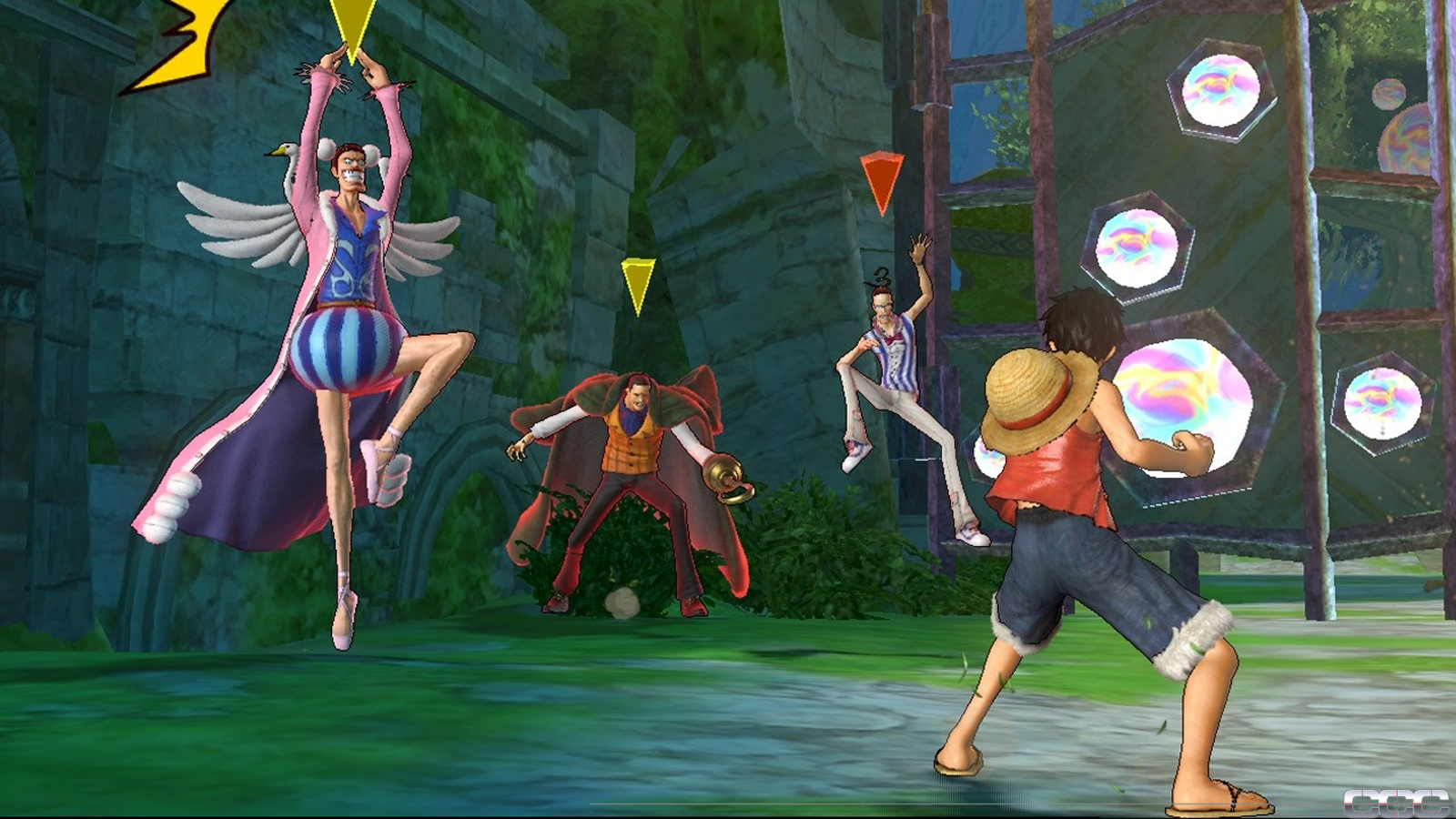One piece pirate warriors preview for playstation 3 ps3 for One piece juego