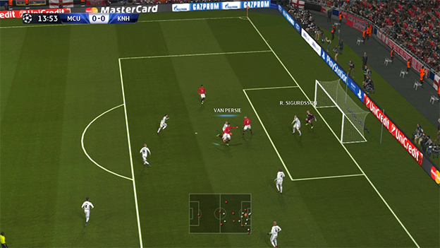 Pro Evolution Soccer 2014 Screenshot