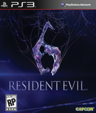 Resident Evil 6 Box Art