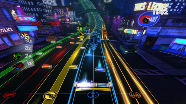 Rock Band Blitz Screenshot