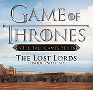 Telltale's Game of Thrones: Episode 2 - Lost Lords Box Art