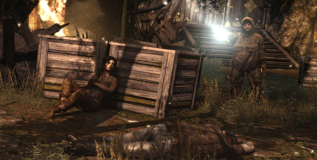 Tomb Raider Multiplayer Screenshot
