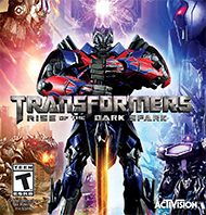 Transformers: Rise of the Dark Spark Box Art