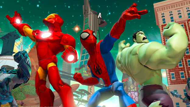 Disney Infinity: Marvel Super Heroes Screenshot