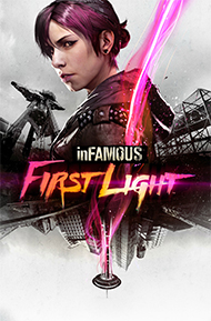 inFAMOUS: First Light Box Art