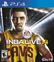 NBA Live 14 Box Art