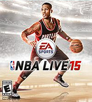 NBA Live 15 Box Art