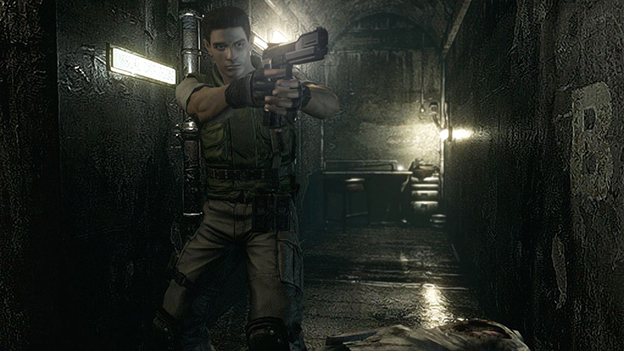 Resident Evil HD Remaster Screenshot