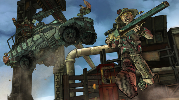 Tales from the Borderlands: Episode 1 - Zero Sum Screenshot