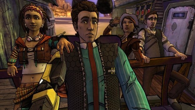 Tales from the Borderlands: Episode 2: Atlas Mugged Screenshot