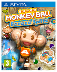 Super Monkey Ball: Banana Splitz Box Art