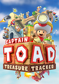 Captain Toad: Treasure Tracker Box Art
