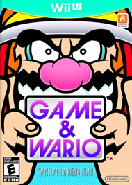 Game and Wario Box Art