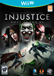 Injustice: Gods Among Us Box Art