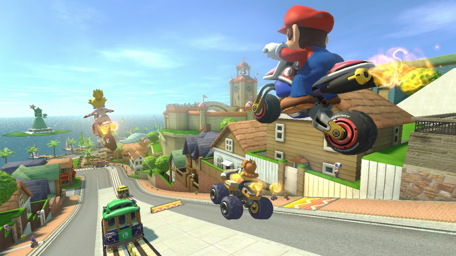 mario kart 8 review for wii u cheat code central. Black Bedroom Furniture Sets. Home Design Ideas