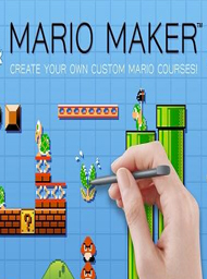 Mario Maker Box Art