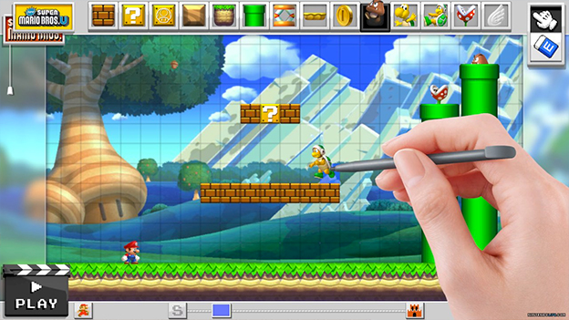 Mario Maker Screenshot