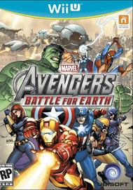 Marvel Avengers: Battle for Earth Box Art