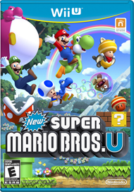 New Super Mario Bros. U Box Art