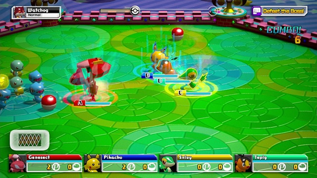 Pokémon Rumble U Screenshot