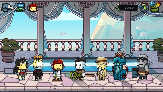 Scribblenauts Unmasked: A DC Comics Adventure Screenshot