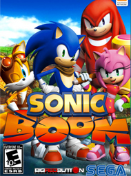 Sonic Boom: Rise of Lyric Box Art