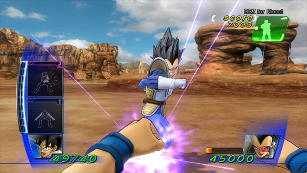 Dragon Ball Z for Kinect Screenshot