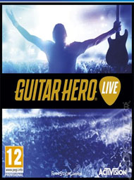Guitar Hero Live Box Art