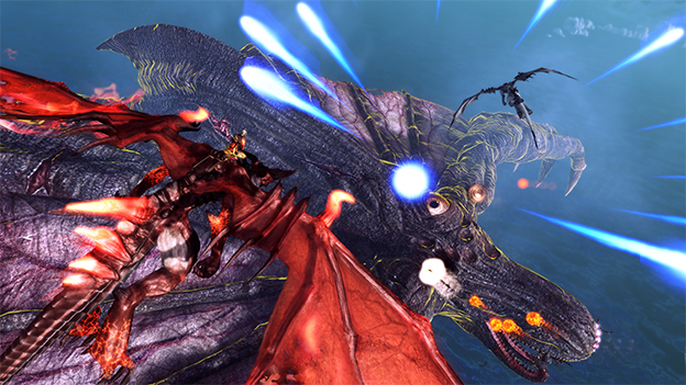 Crimson Dragon Screenshot
