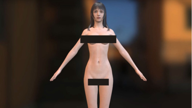 nude final fantasy characters
