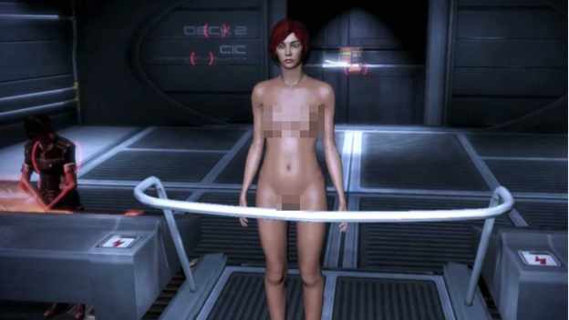 Mass effect mod nude something is