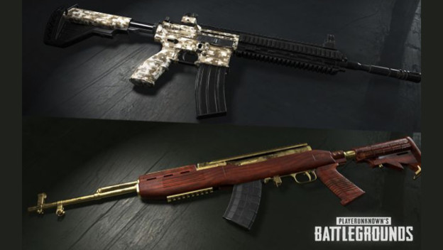 Playerunknown S Battlegrounds Weapons: PUBG Introducing Weapons Skins And Region-Locked Servers