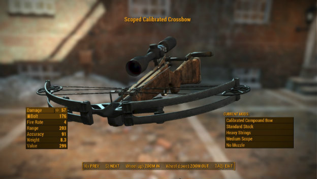 Fallout 4 Mod Adds Crossbows to Our Arsenals - Cheat Code Central