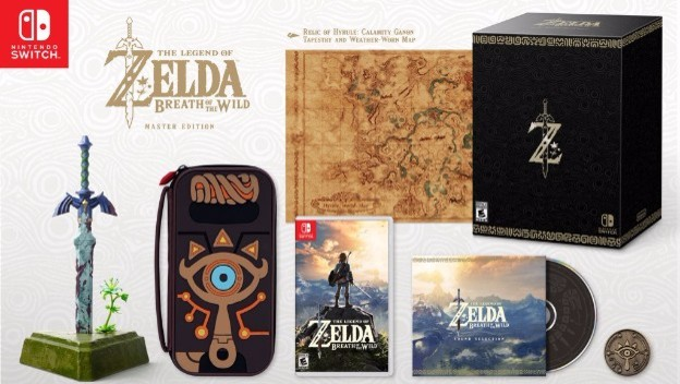 Zelda: Breath of the Wild Master Edition Revealed - Cheat Code Central