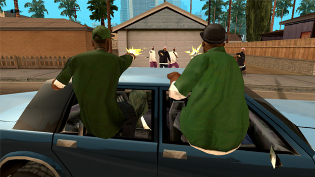 GTA: San Andreas for Xbox 360 is Actually a Mobile Port