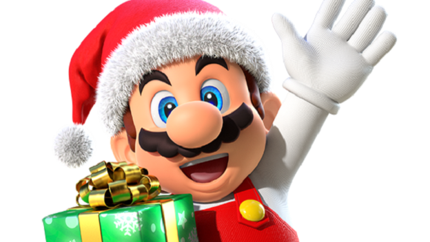 Christmas Mario Png.Holiday Decorations Come To Super Mario Run Cheat Code Central