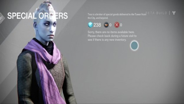 Destiny trading system coming