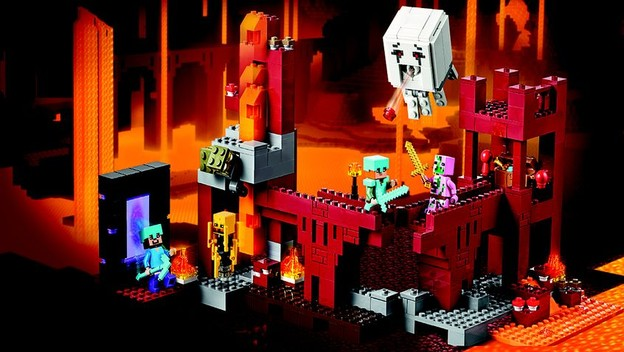 lego minecraft instructions the dungeon