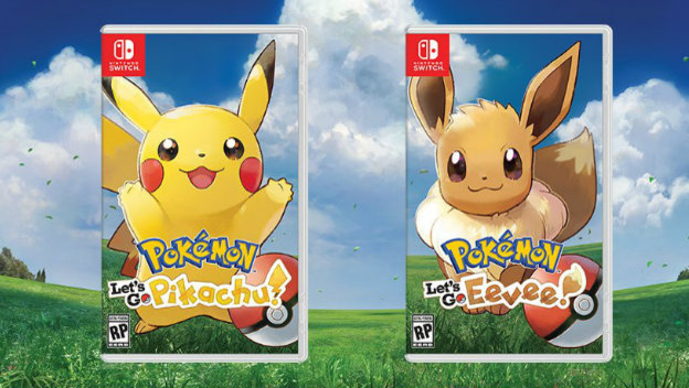Pokemon: Let's Go Pikachu and Eevee
