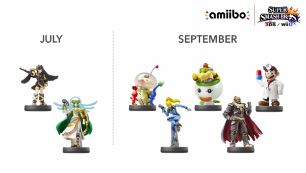 Wave 6 amiibo Launching September 11 - Cheat Code Central