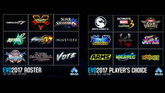 Here's the EVO 2017 Game Lineup