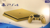 Gold PlayStation 4 Slim Release Leaked