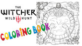 The Witcher III Joins the Coloring Book Craze