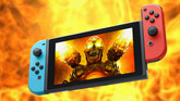 DOOM on Switch is Epic, Thanks to Panic Button