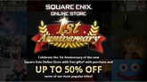 Square Enix Store Hosting a Huge Anniversary Sale