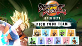 Dragon Ball FighterZ Open Beta Roster Revealed