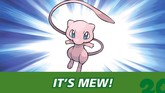 Don't Forget to Pick Up Your Free Mew This Month!