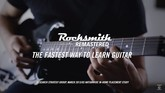 Rocksmith 2014 Edition Remastered Coming Oct. 4
