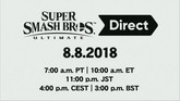 Nintendo Announced Super Smash Bros. Ultimate Direct