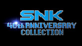 SNK 40th Anniversary Collection Arrives November 13, 2018